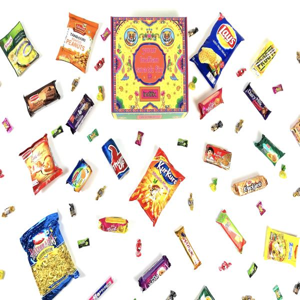 IndiFix: A Monthly Box of Indian snacks & treats!