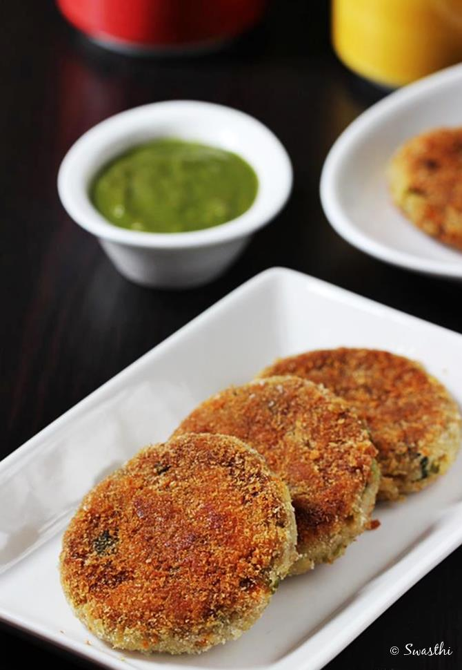 Vegetable Potato Cutlet